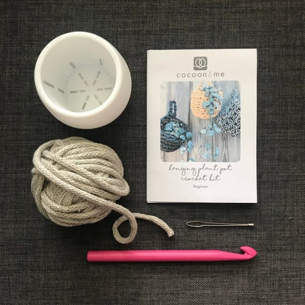 crochet plant pot kit
