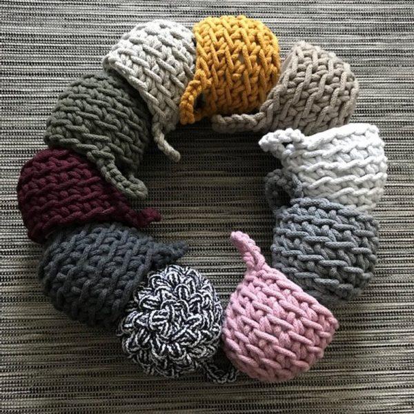 crochet plant pot holders