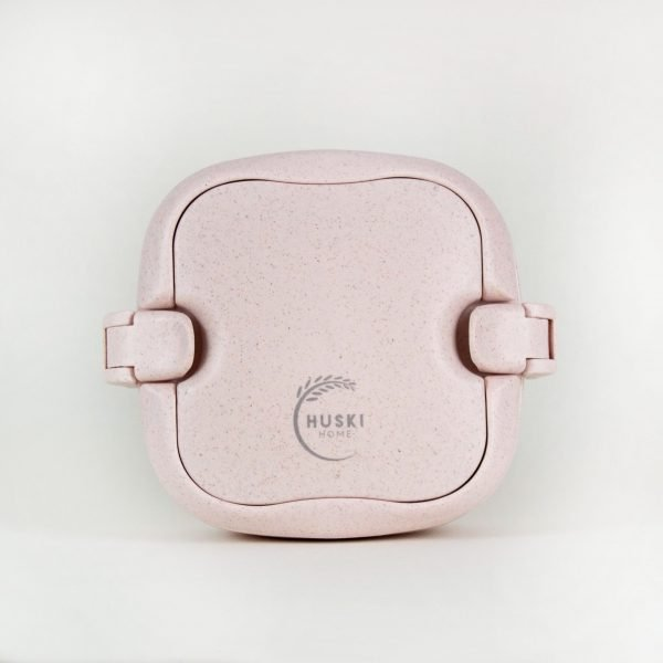 husky rice husk lunchbox pink