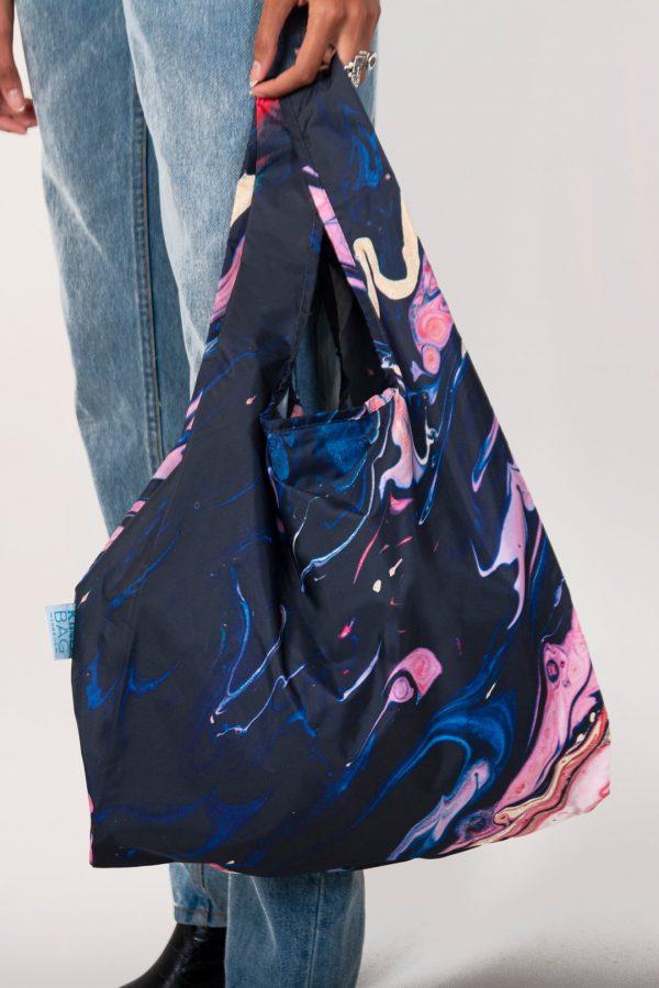Kind bag shopping bag galaxy design
