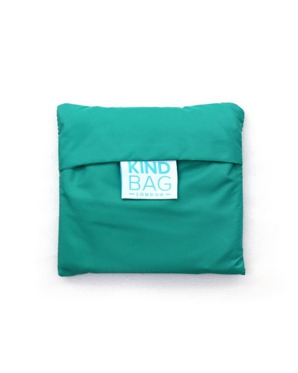kind bag in green pouch