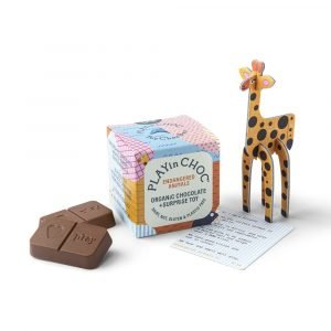 play in choc endangered animals chocolate and toy