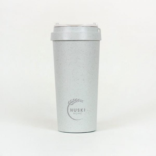 large blue rice husk cup