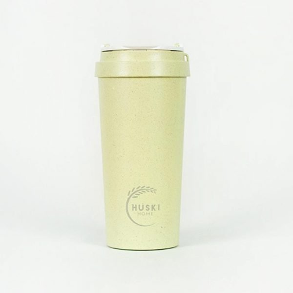 large green rice husk cup