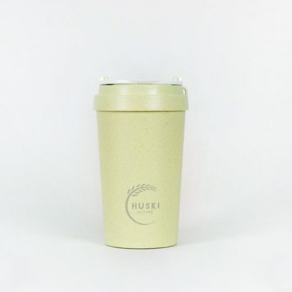 small green rice husk cup
