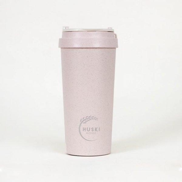 large pink huski rice husk cup