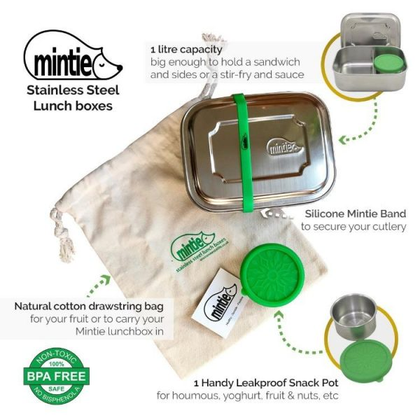 stainless steel lunchbox by mintie