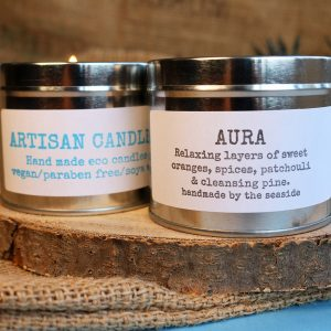 artisan candles aura fragrance