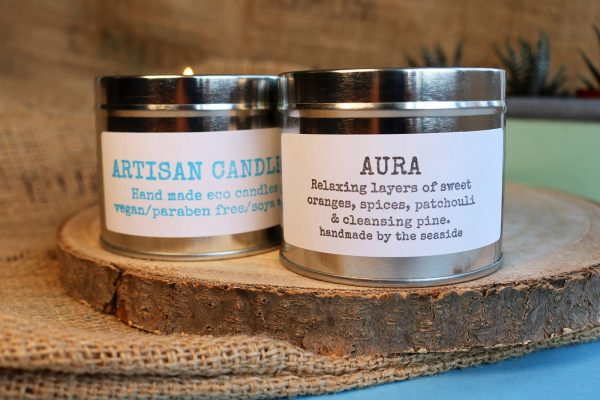artisan candles aura fragrance