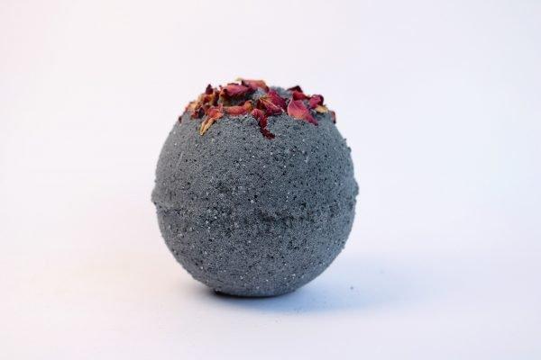 black bath bomb by float spa