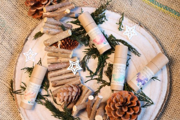 natural lip balms by floating feather