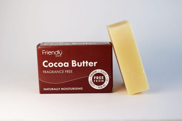 natural cocoa butter soap bar