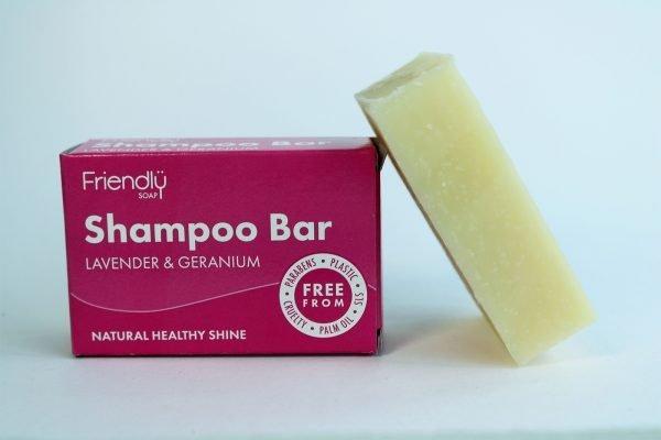 natural lavender geranium soap bar