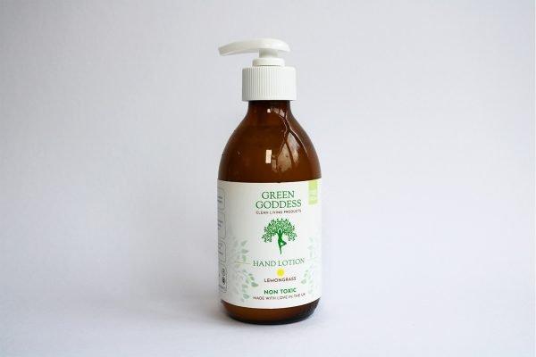 natural lemongrass hand lotion