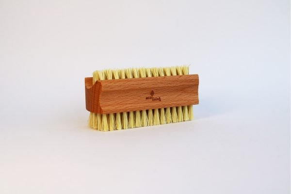 large plastic free nail brush