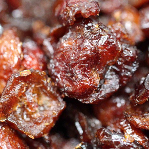 close up photo of organic cranberries