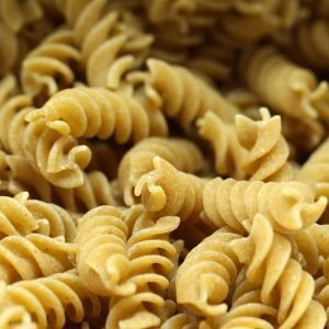wholewheat fusilli pasta