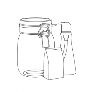 refill shop containers