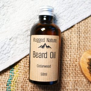 natural beard oil by Rugged Nature