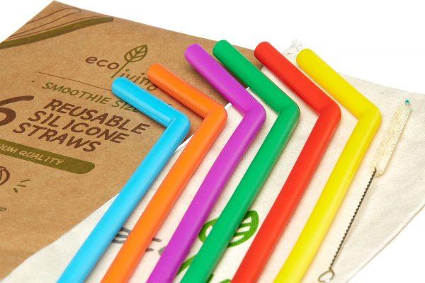 eco-friendly smoothie straws