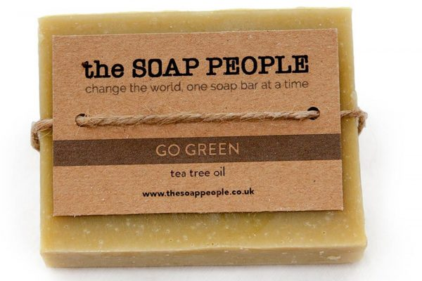 natural soap bar with tea tree oil