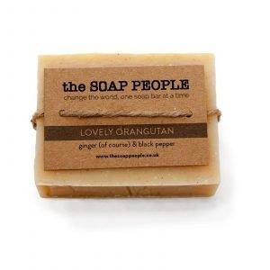 natural ginger soap bar