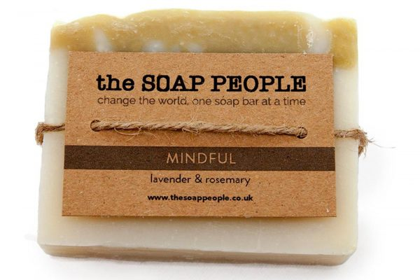 mindful natural soap bar