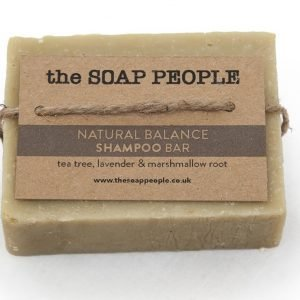 tea tree and lavender shampoo bar