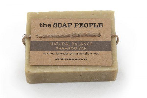tea tree and lavender shampoo bar