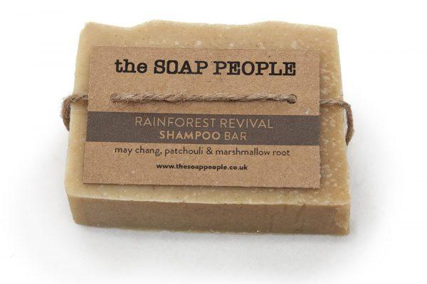natural shampoo bar with may chang and patchouli