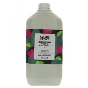 vegan shampoo rose and geranium