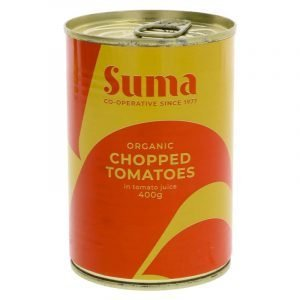 can of organic chopped tomatoes