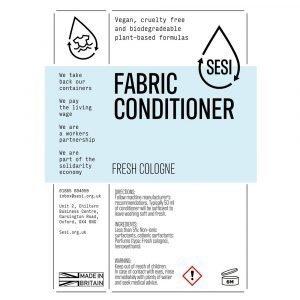 Eco friendly fabric conditioner