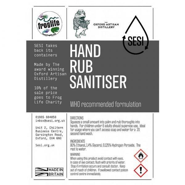 eco friendly hand sanitiser