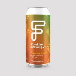 Franklins beer Treehouse Embers Amber IPA