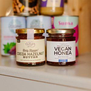 Honea and Hazelnut Butter Jars