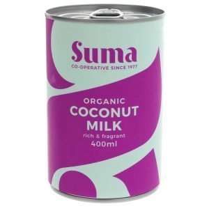 can of organic coconut milk