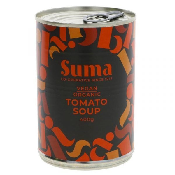 can of organic tomato soup