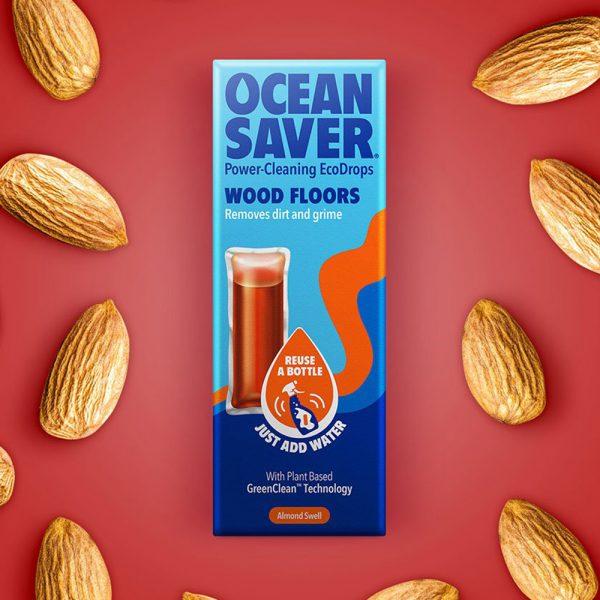 Ocean Saver EcoDrops cleaner for wood floors
