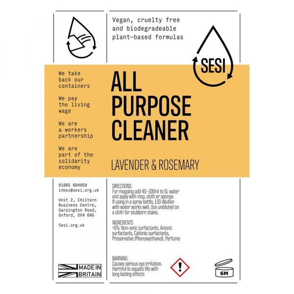 eco-friendly all purpose cleaner