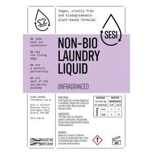 eco friendly non bio laundry liquid