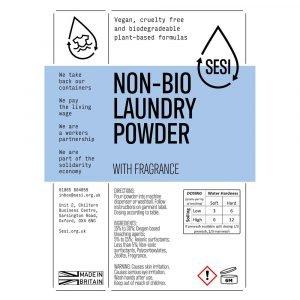 eco-friendly non bio laundry powder