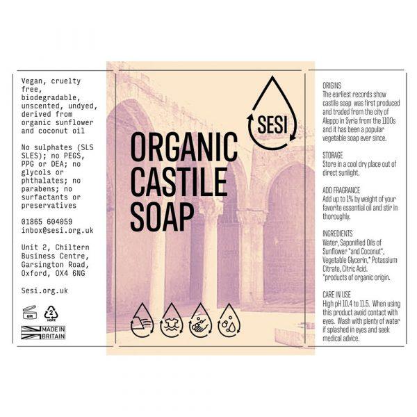 organic castle soap