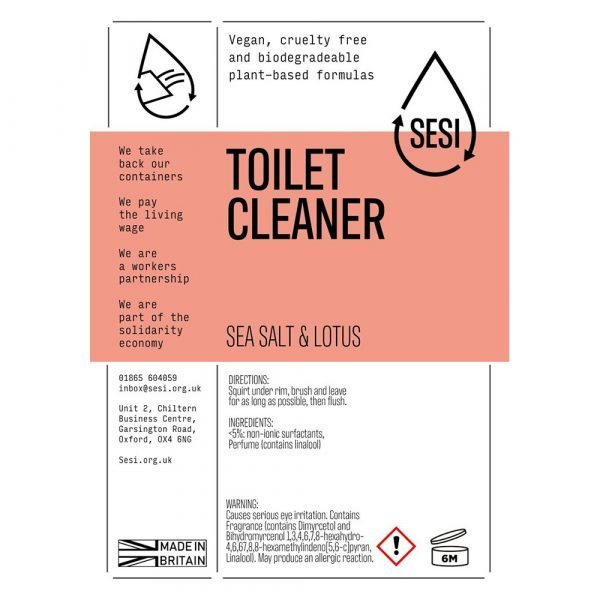 eco-friendly toilet cleaner