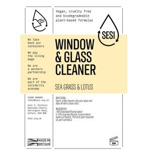 eco-friendly window glass cleaner