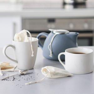 reusable tea bag for loose leaf tea