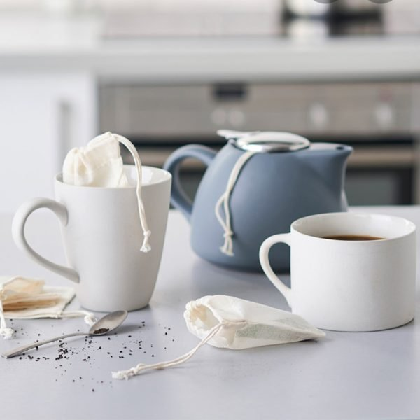 reusable tea bag for loose leaf tea