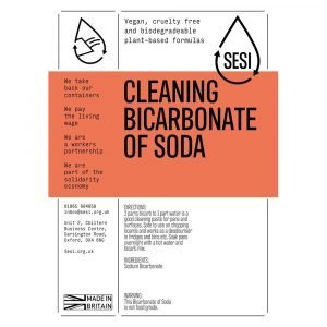 eco friendly cleaning bicarbonate of soda