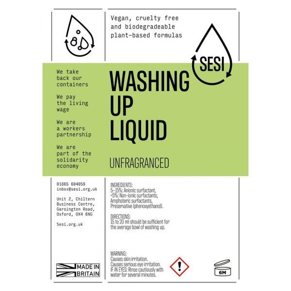 eco friendly washing up liquid