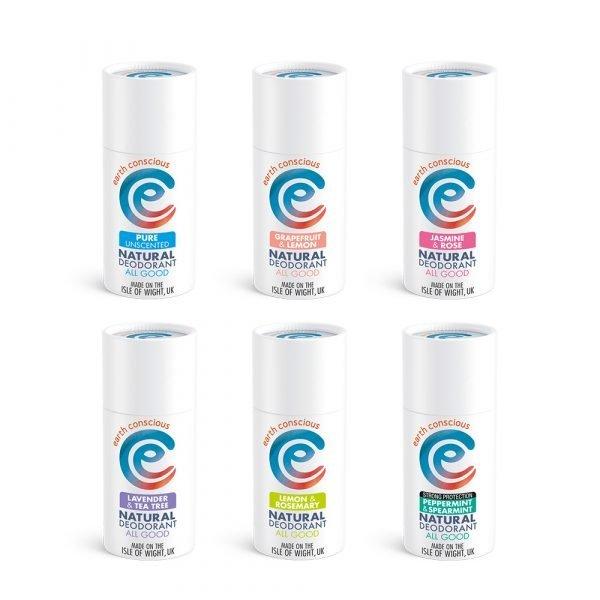 Earth Conscious Deodorants